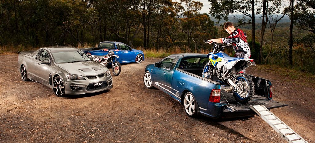 2011 HSV Maloo R8 FPV F6 FPV GS ute comparison review