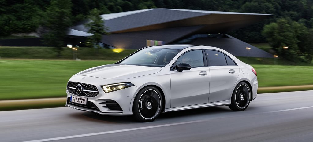 2019 Mercedes-Benz A-Class sedan pricing and features