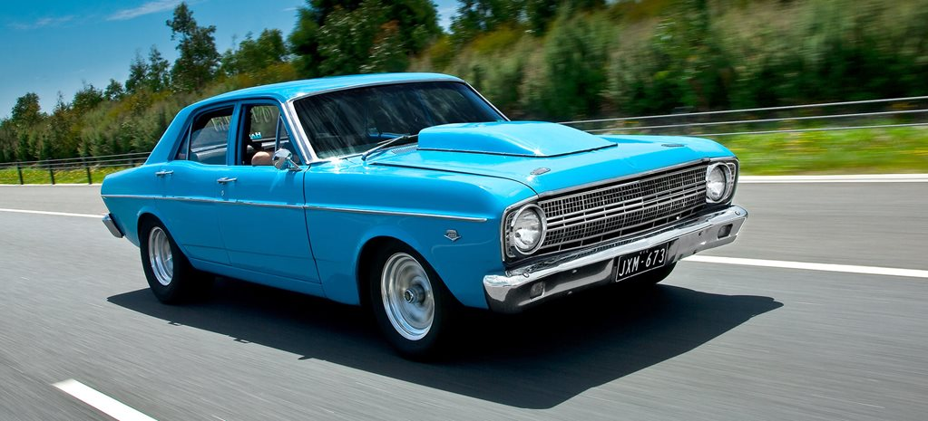 George Haddad's 945hp 1967 Ford XR Falcon - flashback