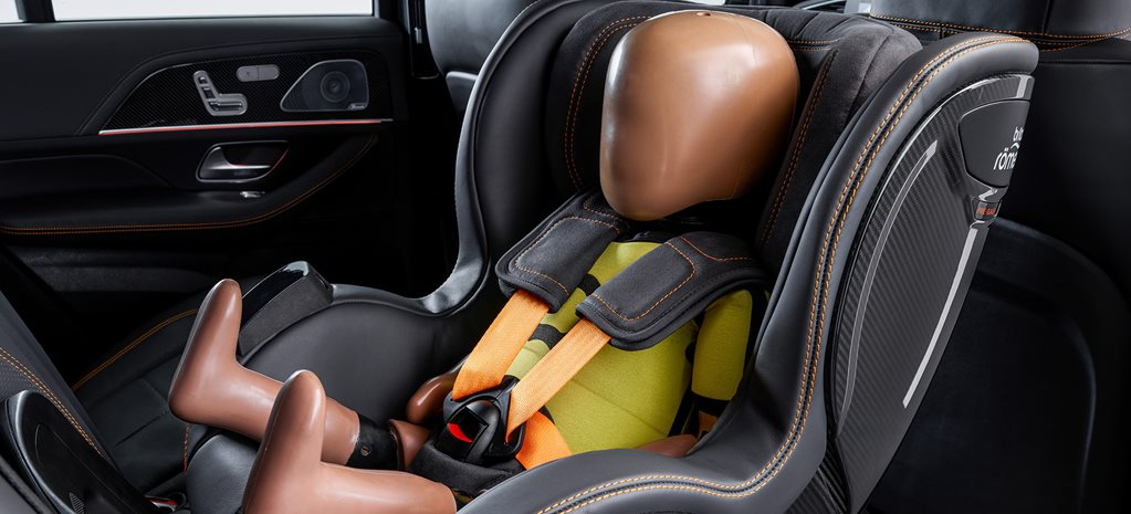 Mercedes-Benz creates world's coolest baby car seat