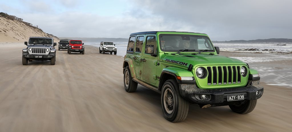2019 JL Jeep Wrangler Australian pricing and features