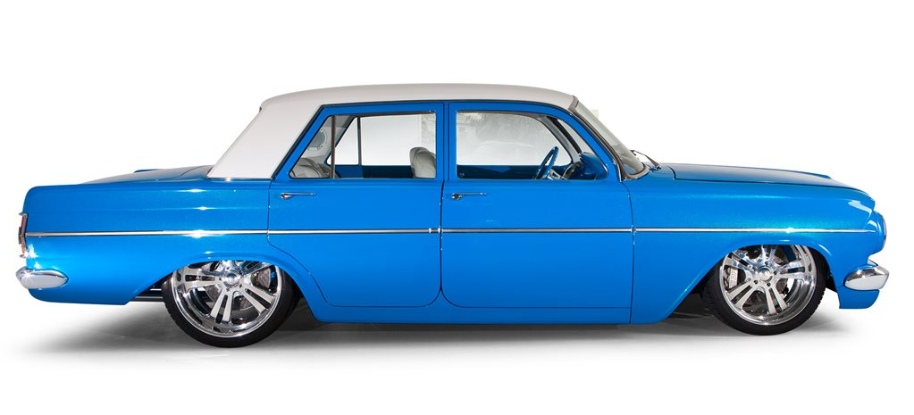 Harrop-injected LS2-powered 1964 EH Holden - flashback