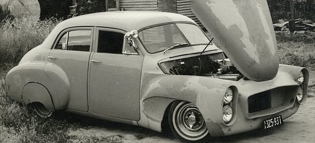 Tim Bartrop's early days of Aussie custom car culture