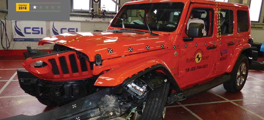 Jeep Wrangler scores 1 star ANCAP rating