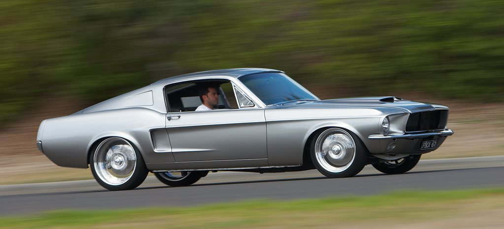 500hp 1967 Ford Mustang fastback - flashback