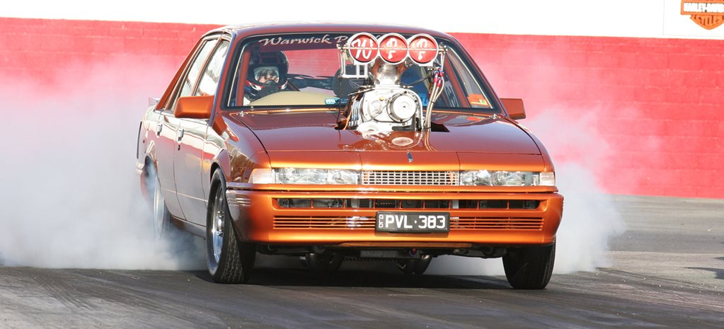 1100hp blown Holden VL Calais - flashback