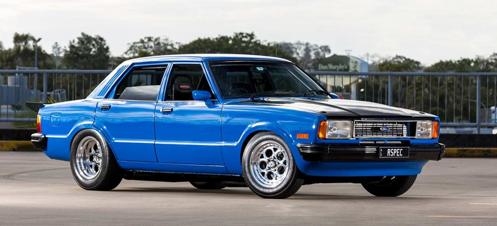 Turbo 2JZ-powered 1978 Ford Cortina TE Ghia