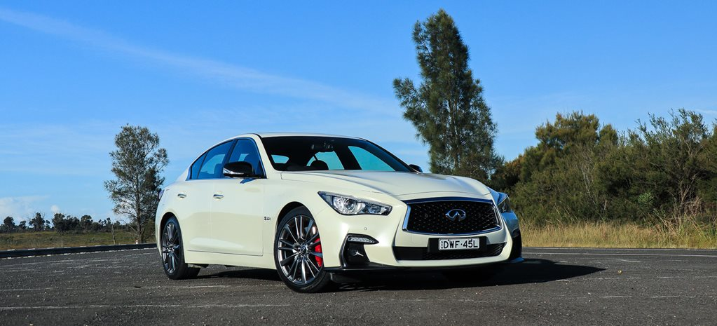2019 Infiniti Q50 S Red Sport Review