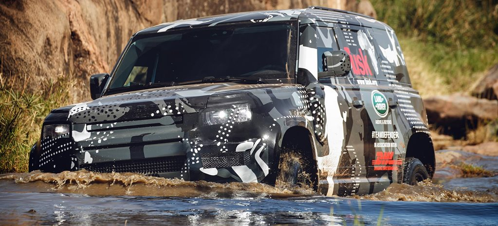 2020 Land Rover Defender prototype Kenya news