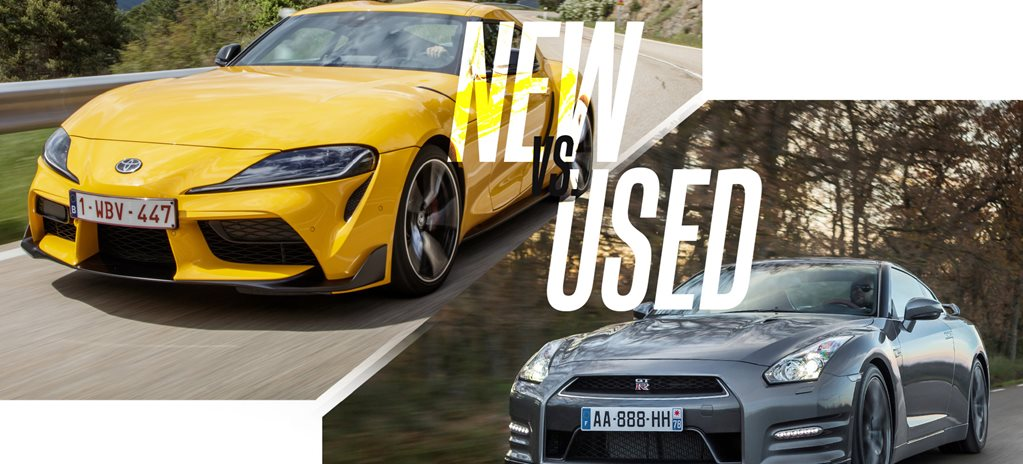 New vs used: Buy the new Toyota Supra or get a used Nissan GT-R?