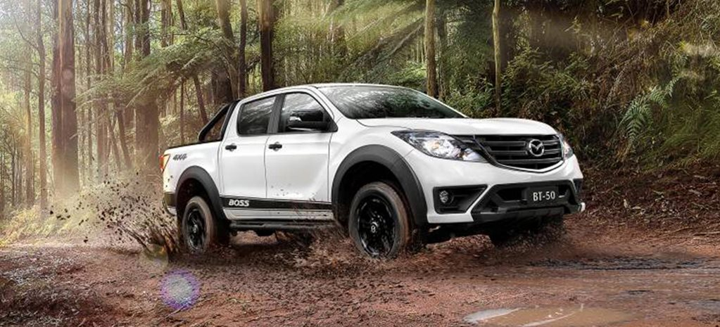 Mazda BT-50 Boss unveiled news