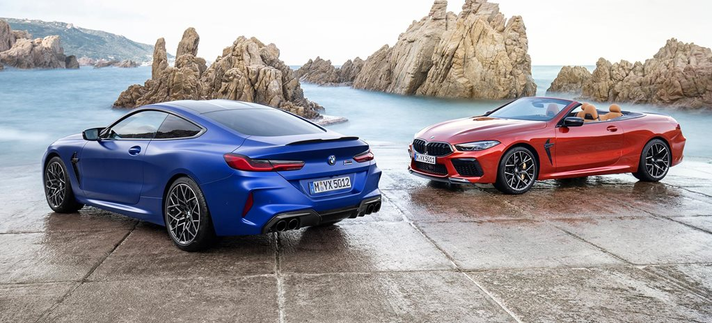 2020 BMW M8 coupe and convertible revealed news