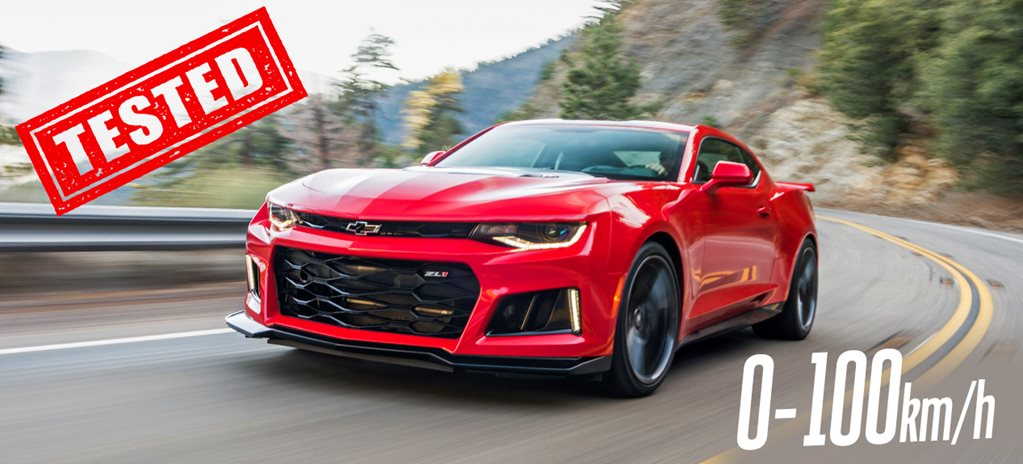 2019 Chevrolet Camaro ZL1's real world performance tested