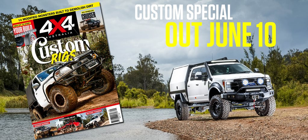 Special edition Custom Rigs issue out June 10