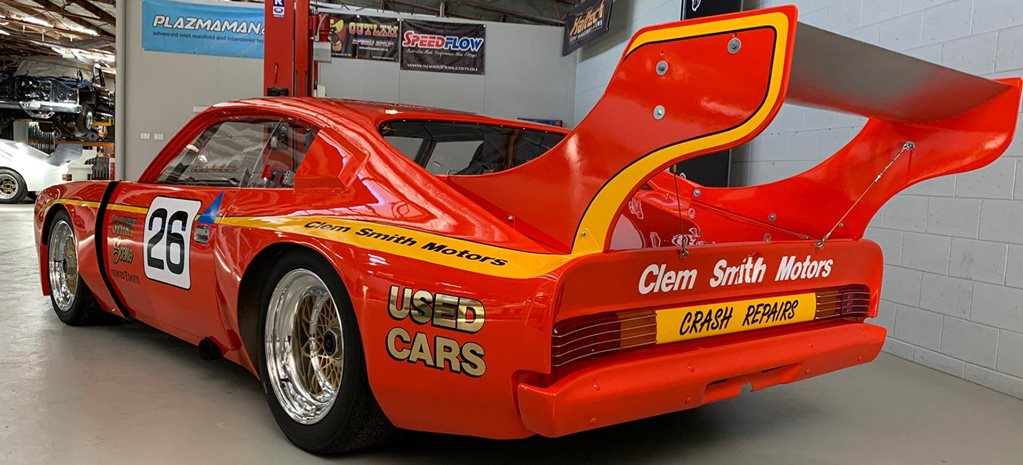 Clem Smith's famed Charger Sports Sedan restored