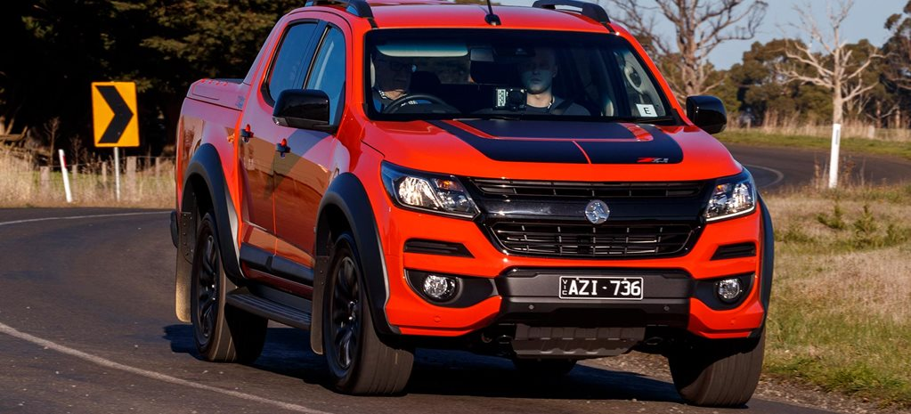 2020 Holden Colorado first 4x4 drive review feature