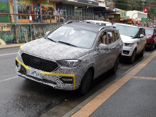 Is this another Chinese SUV on route to Oz?