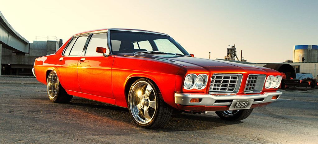 Blown LS1-powered Holden HQ Statesman - flashback