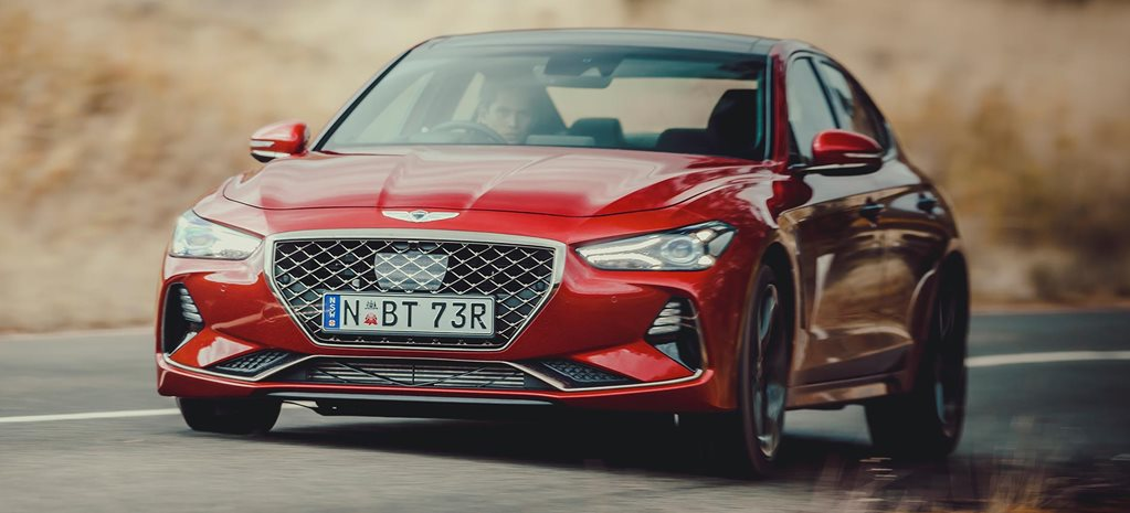 2019 Genesis G70 performance review feature