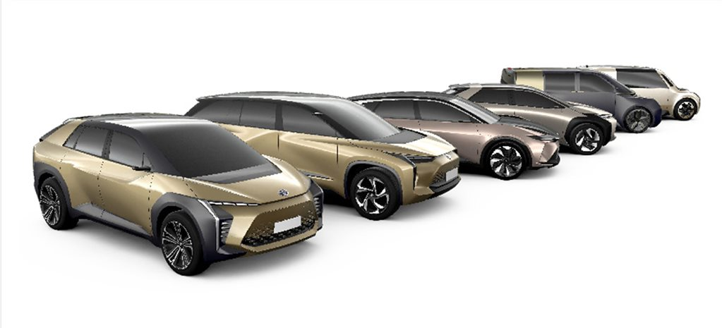 Toyota electric vehicle line-up 2020