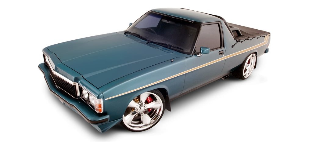 Blown LS1-powered Holden HZ Sandman ute - flashback