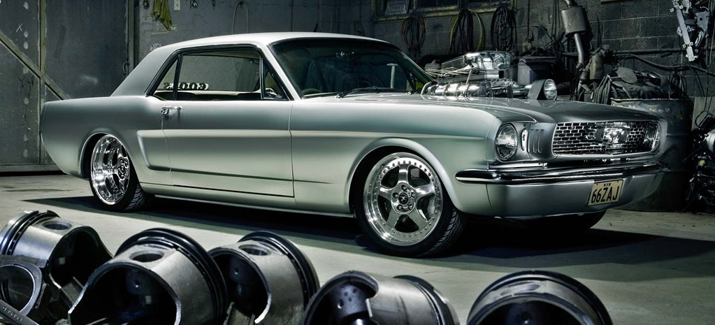 Blown 1966 Ford Mustang - flashback