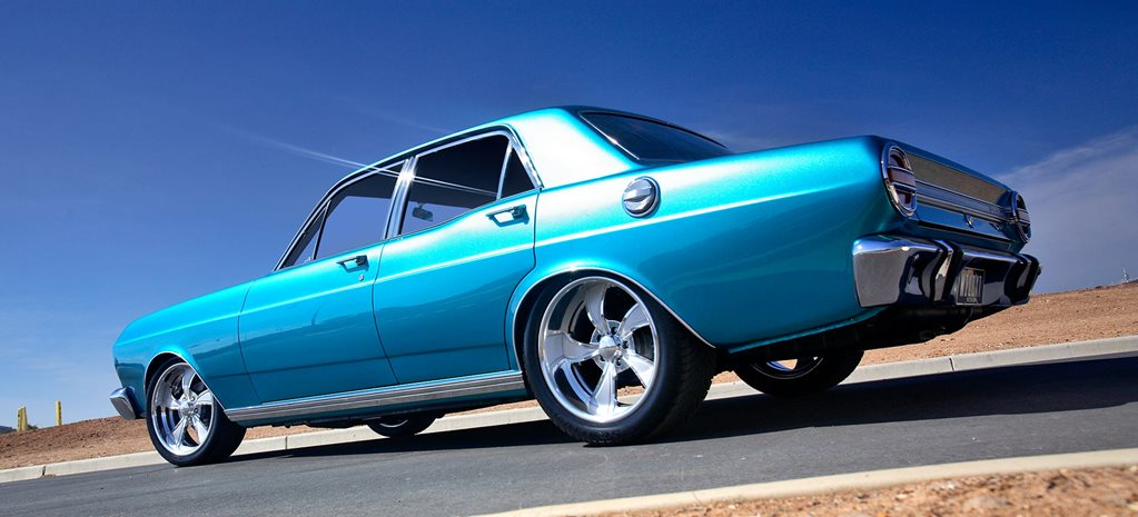 Windsor 351-powered 1969 Ford XT Falcon - flashback