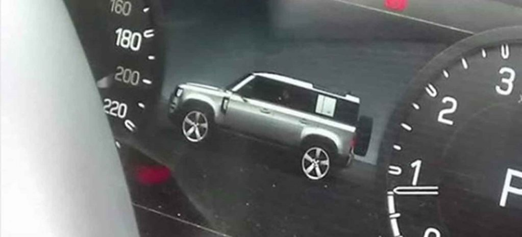 More 2020 Land Rover Defender images leaked