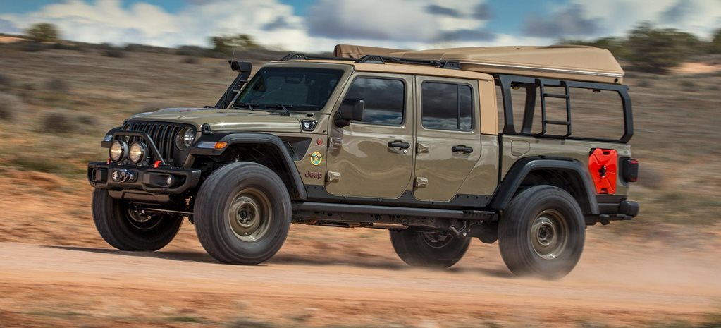 Jeep Gladiator Wayout 2019 Easter Jeep Safari concept review