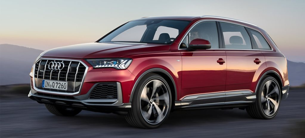 2020 Audi Q7 facelift reveals new look, reworked interior