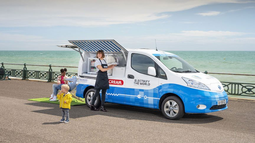 Nissan Shows Off The E Nv200 Possibilities By Creating An