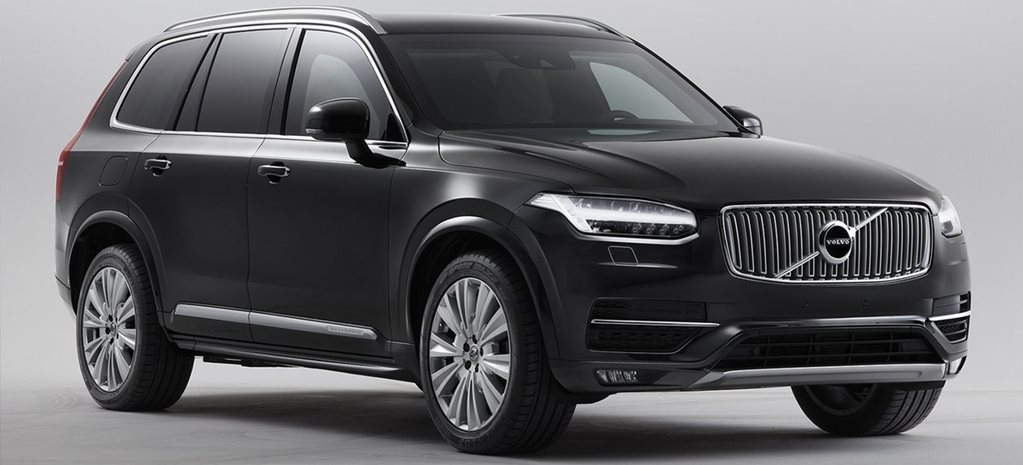 Volvo reveals armoured XC90, which weighs 4.5-tonnes