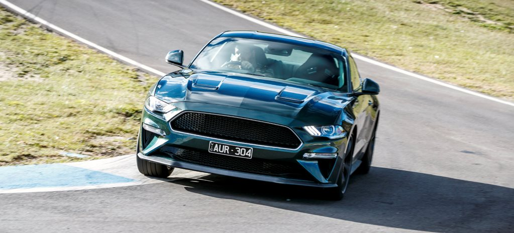 Ford shoots down new Mustang Bullitts