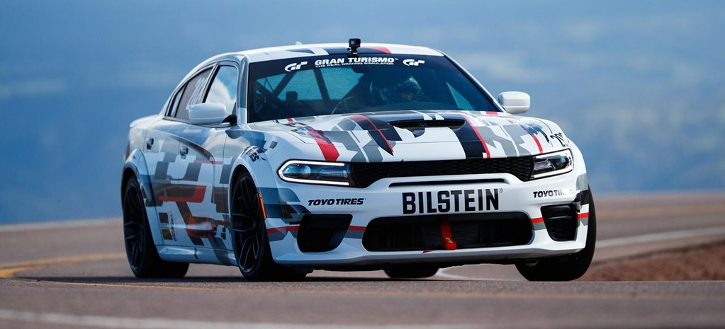 Dodge Charger SRT Hellcat Widebody Concept Pikes Peak news