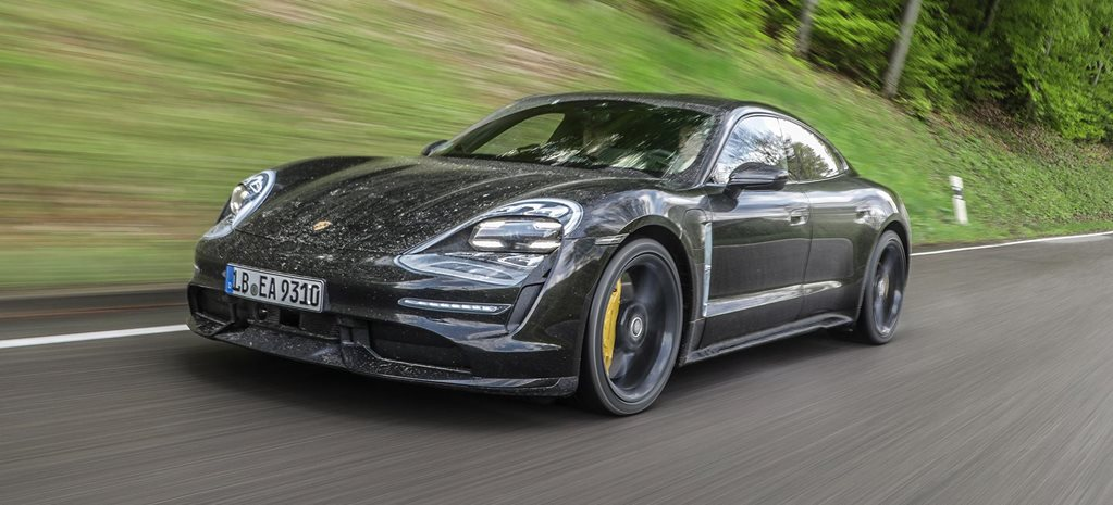 2020 Porsche Taycan Turbo prototype ride review