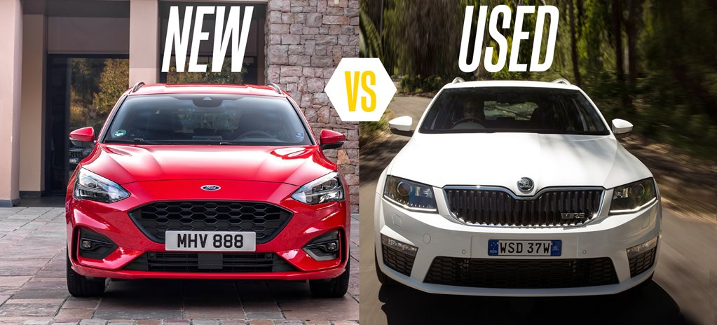 Buy a new Ford Focus ST-Line or get a used Skoda RS 162TSI wagon?