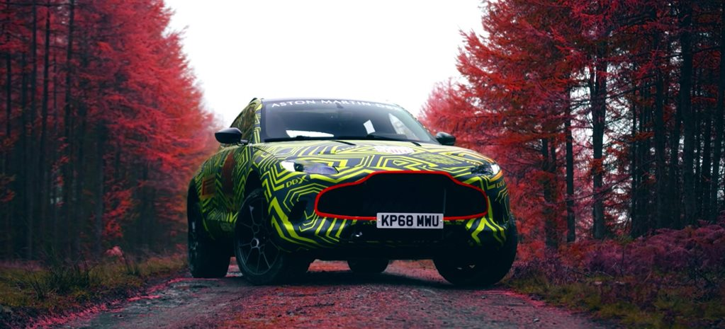 Aston Martin DBX SUV teaser reminds us of other lacklustre PR nonsense