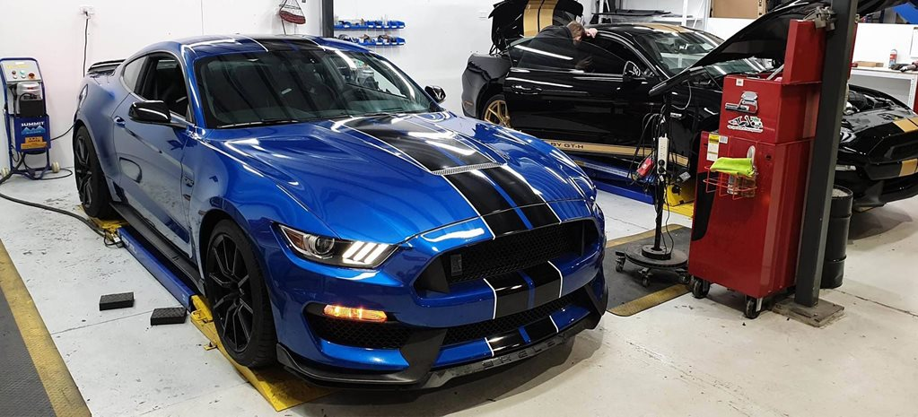 First Shelby GT350 lands in Australia news