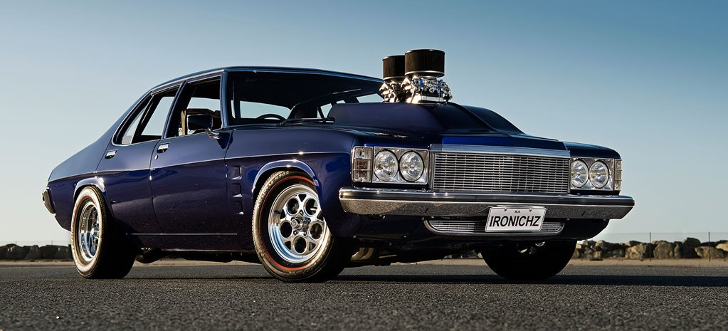 Blown twin-carb 1978 HZ Holden