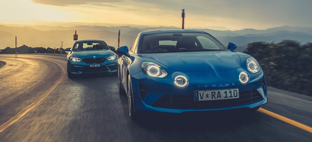 Alpine A110 vs BMW M2 Competition comparison review