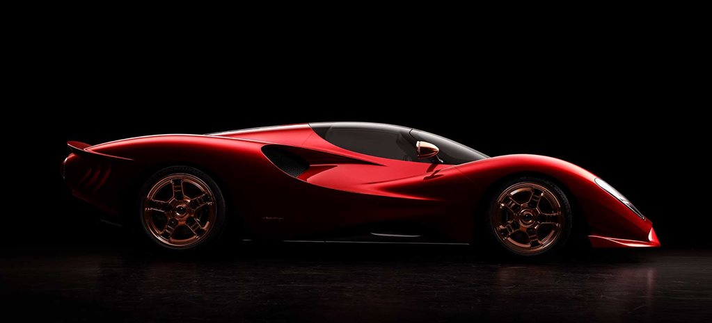 De Tomaso P72 unveiled on brand's 60th anniversary