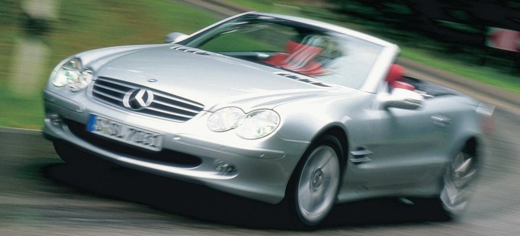 2001 Mercedes-Benz SL500 review classic MOTOR feature