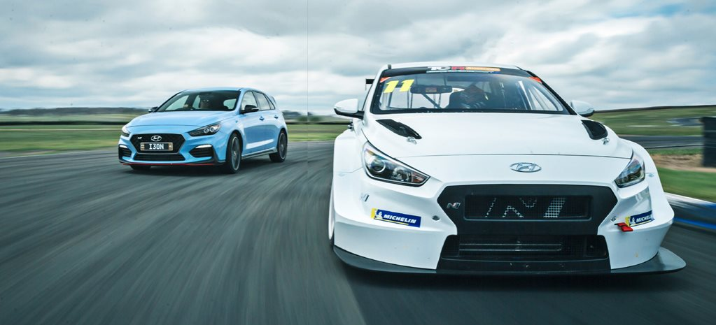 My other Hyundai is a racecar: Driving a Hyundai i30 N TCR