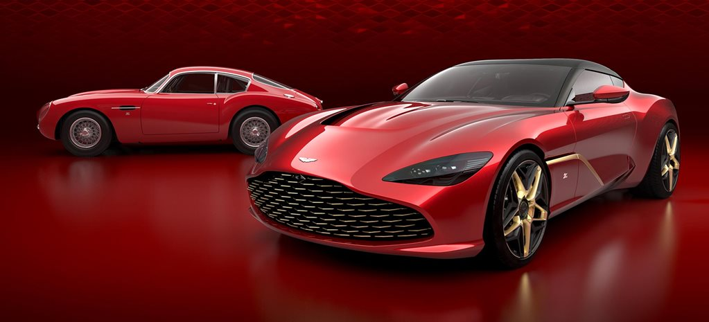 Aston Martin DBS GT Zagato final design revealed news