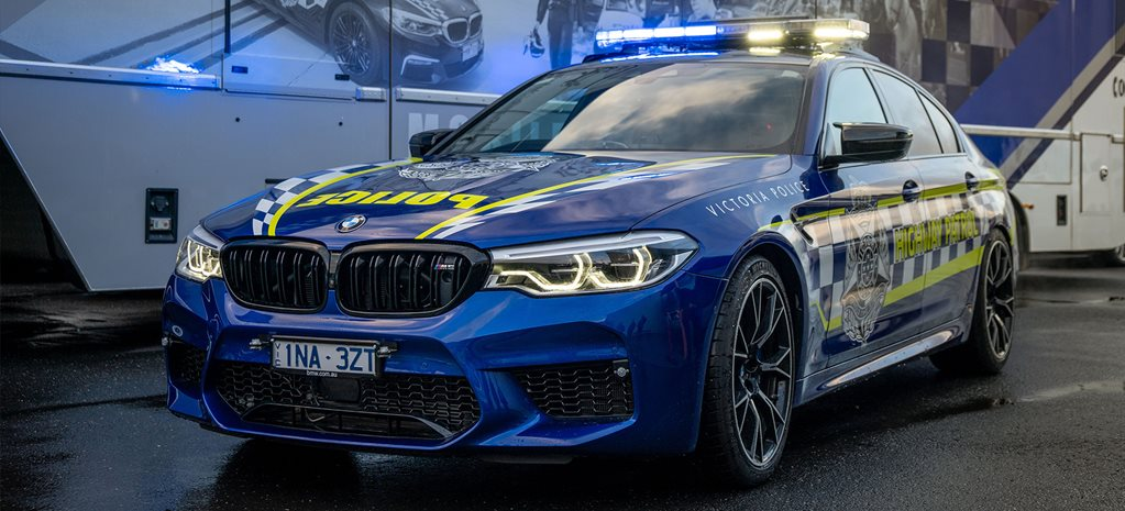Check out VicPol's new 460kW pursuit car