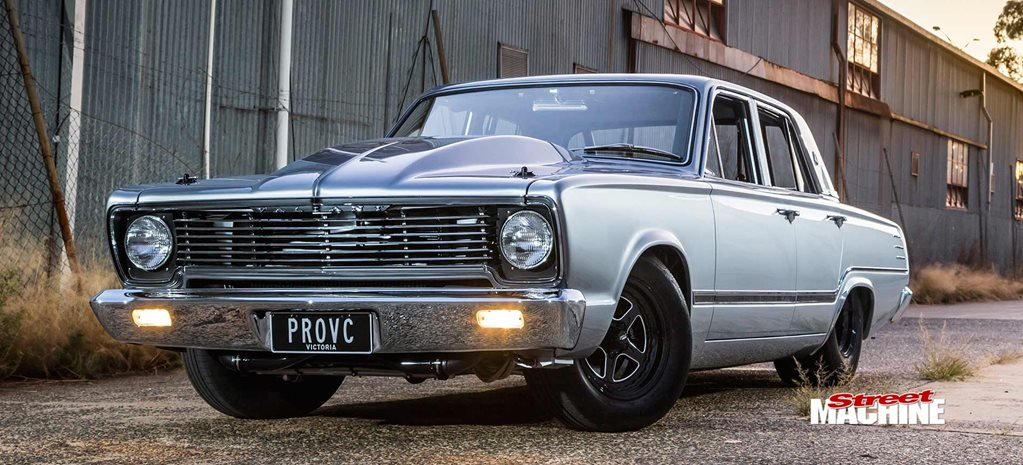 Twin-turbo NASCAR-powered 1967 Chrysler VC Valiant