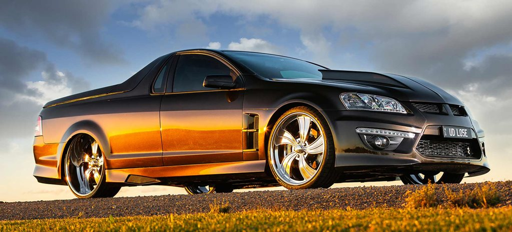 Elite-level turbo LS stroker-powered Holden VE SS-V ute