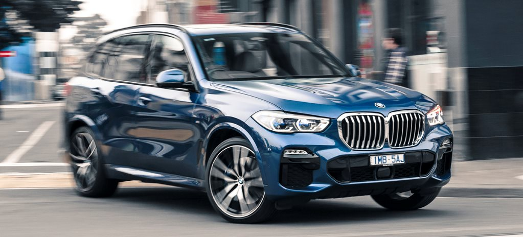 Wheels spin: BMW X5 30d 2019