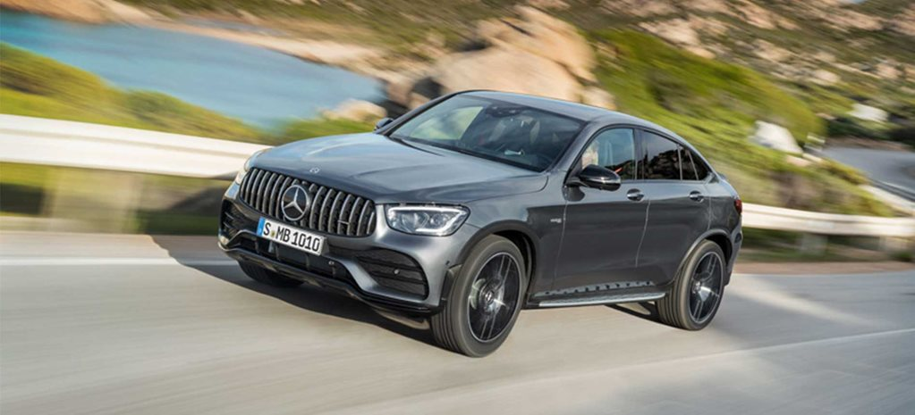 2020 Mercedes-AMG GLC43 Coupe revealed news