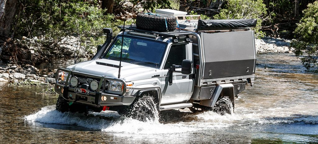Custom portal-axled Toyota Land Cruiser 79 review feature